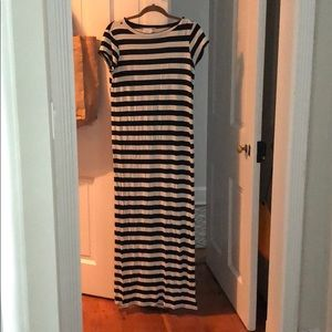 ASOS Maternity striped maxi dress size 6